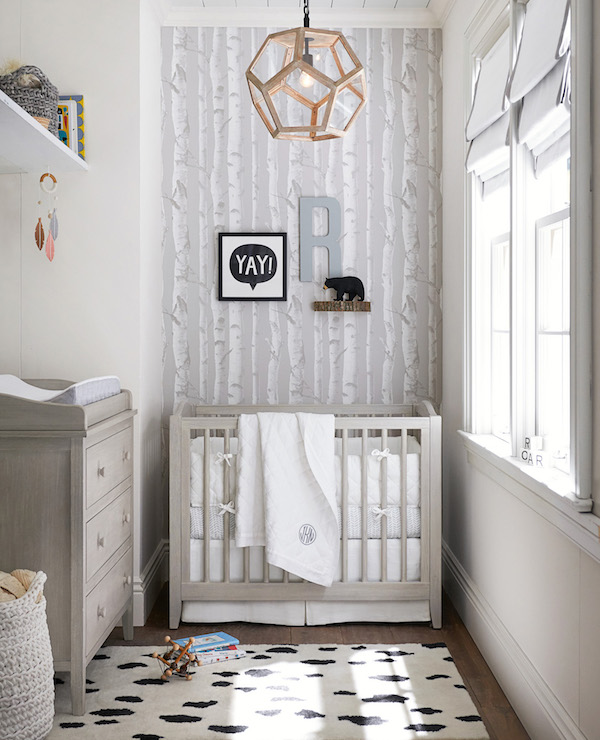 55 - White Linen Mini Nursery